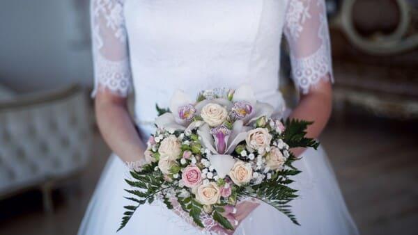 Un Beau Bouquet De Fleurs Pour Le Jour J