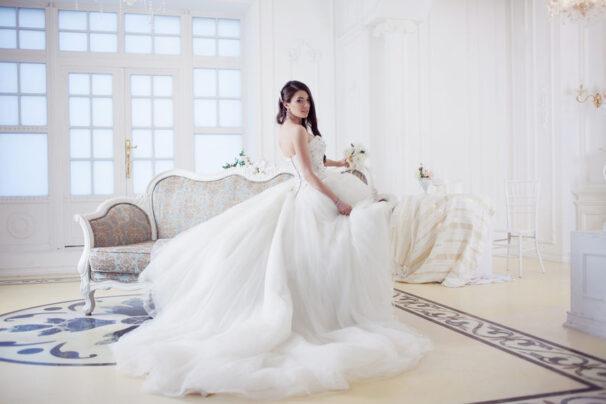 Quelle robe de mariée pour une mariée de petite taille?
